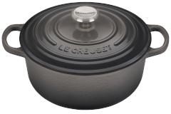 Le Creuset Signature Cast Iron 2 3/4 qt. Round Dutch Oven - Oyster
