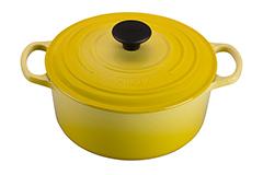 Le Creuset Signature Cast Iron 4 1/2 qt. Round Dutch Oven - Soleil