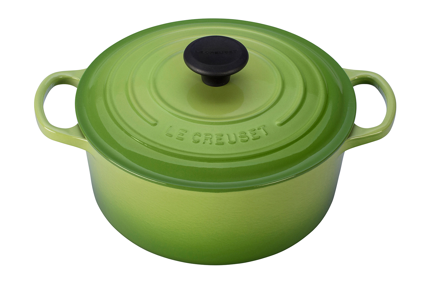 Le Creuset Signature Cast Iron 4 1/2 qt. Round Dutch Oven - Palm