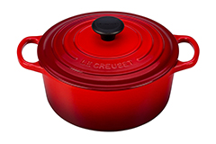 Le Creuset Signature Cast Iron 4 1/2 qt. Round Dutch Oven - Cerise