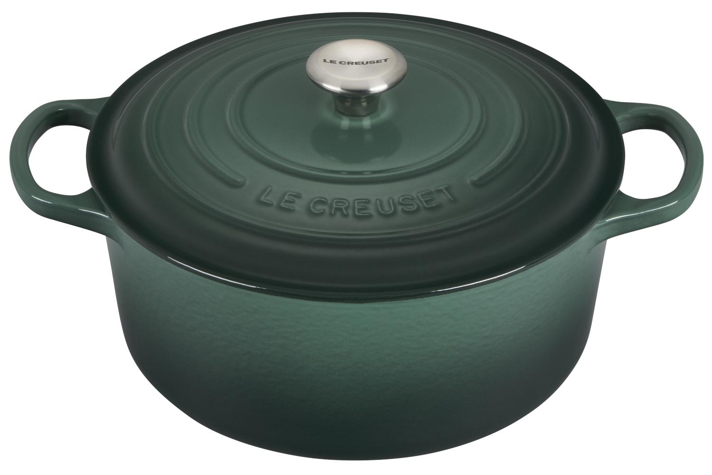 Le Creuset Signature Cast Iron 4 1/2 qt. Round Dutch Oven - Artichaut
