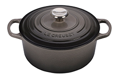 Le Creuset Signature Cast Iron 4 1/2 qt. Round Dutch Oven - Oyster