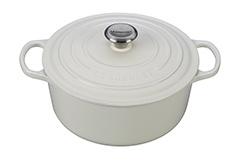 Le Creuset Signature Cast Iron 5 1/2 qt. Round Dutch Oven - White