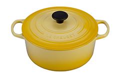 Le Creuset Signature Cast Iron 5 1/2 qt. Round Dutch Oven - Soleil