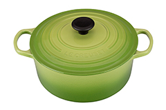 Le Creuset Signature Cast Iron 5 1/2 qt. Round Dutch Oven - Palm