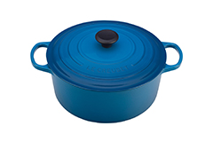 Le Creuset Signature Cast Iron 5 1/2 qt. Round Dutch Oven - Marseille