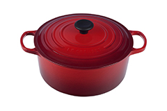 Le Creuset Signature Cast Iron 5 1/2 qt. Round Dutch Oven - Cerise