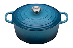 Le Creuset Signature Cast Iron 5 1/2 qt. Round Dutch Oven - Marine