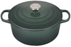 Le Creuset Signature Cast Iron 5 1/2 qt. Round Dutch Oven - Artichaut