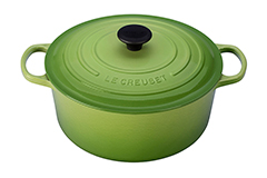 Le Creuset Signature Cast Iron 7 1/4 qt. Round Dutch Oven - Palm