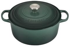 Le Creuset Signature Cast Iron 7 1/4 qt. Round Dutch Oven - Artichaut