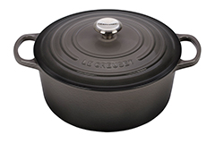 Le Creuset Signature Cast Iron 7 1/4 qt. Round Dutch Oven - Oyster