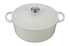 Le Creuset Signature Cast Iron 9 qt. Round Dutch Oven - White