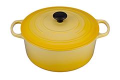 Le Creuset Signature Cast Iron 9 qt. Round Dutch Oven - Soleil