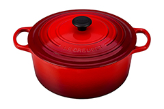 Le Creuset Signature Cast Iron 9 qt. Round Dutch Oven - Cerise