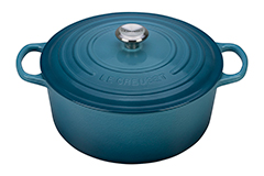 Le Creuset Signature Cast Iron 9 qt. Round Dutch Oven - Marine