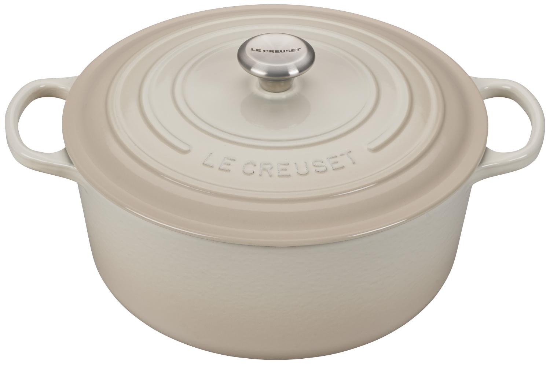 Le Creuset Signature Cast Iron Meringue Round Dutch Ovens