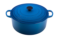 Le Creuset Signature Cast Iron 13 1/4 qt. Round Dutch Oven - Marseille