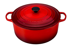 Le Creuset Signature Cast Iron 13 1/4 qt. Round Dutch Oven - Cerise