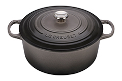 Le Creuset Signature Cast Iron 13 1/4 qt. Round Dutch Oven - Oyster