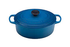 Le Creuset Signature Cast Iron 5 qt. Oval Dutch Oven - Marseille