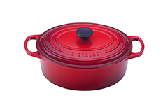 Le Creuset Signature Cast Iron 5 qt. Oval Dutch Oven - Cerise