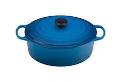 Le Creuset Signature Cast Iron 6 3/4 qt. Oval Dutch Oven - Marseille
