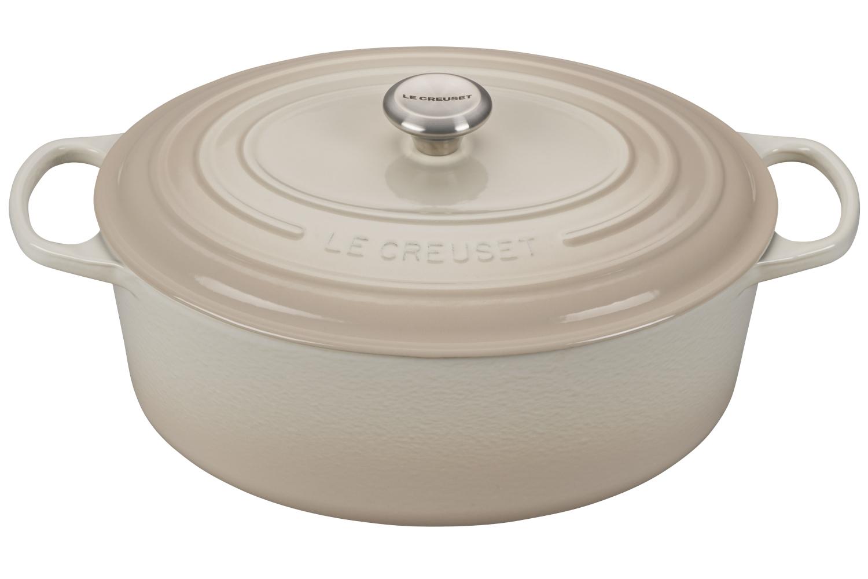 Le Creuset Signature Cast Iron Meringue Oval Dutch Ovens
