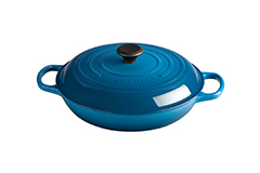 Le Creuset Signature Cast Iron 3 1/2 qt. Braiser - Marseille