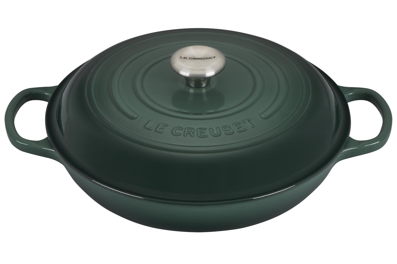 Le Creuset Signature Cast Iron 3 1/2 qt. Braiser - Artichaut