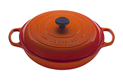 Le Creuset Signature Cast Iron 5 qt. Braiser - Flame