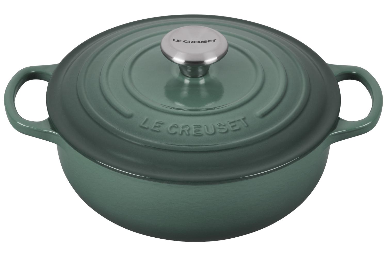 Le Creuset Signature Cast Iron 3 1/2 qt. Sauteuse - Artichaut