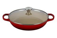 Le Creuset Enameled Cast Iron 3 1/2 qt. Buffet Casserole - Cerise