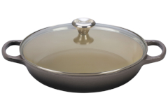 Le Creuset Enameled Cast Iron 3 1/2 qt. Buffet Casserole - Oyster