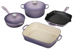 Le Creuset Signature Cast Iron 6 Piece Cookware Set - Provence