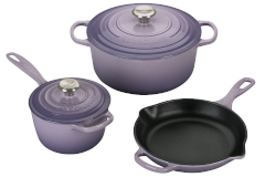 Le Creuset Signature Cast Iron 5 Piece Cookware Set - Provence