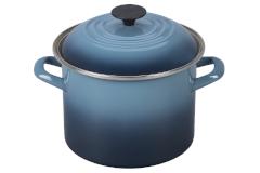 Le Creuset Enamel on Steel 6 qt. Stock Pot - Marine