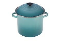 Le Creuset Enamel on Steel 8 qt. Stock Pot - Caribbean