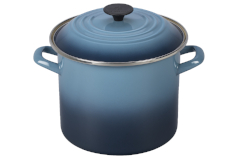 Le Creuset Enamel on Steel 8 qt. Stock Pot - Marine