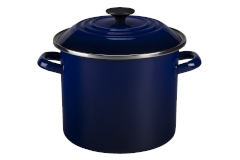 Le Creuset Enamel on Steel Indigo Stock Pots