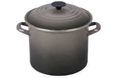 Le Creuset Enamel on Steel 8 qt. Stock Pot - Oyster