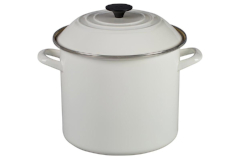 Le Creuset Enamel on Steel White Stock Pots