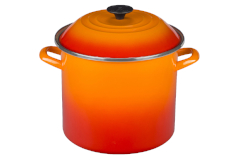 Le Creuset Enamel on Steel 10 qt. Stock Pot - Flame