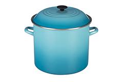 Le Creuset Enamel on Steel 16 qt. Stock Pot - Caribbean