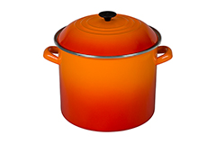 Le Creuset Enamel on Steel 16 qt. Stock Pot - Flame