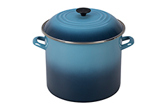 Le Creuset Enamel on Steel 16 qt. Stock Pot - Marine