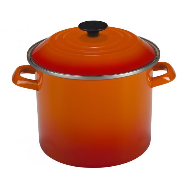 Le Creuset Enamel on Steel 6 qt. Stock Pot - Flame