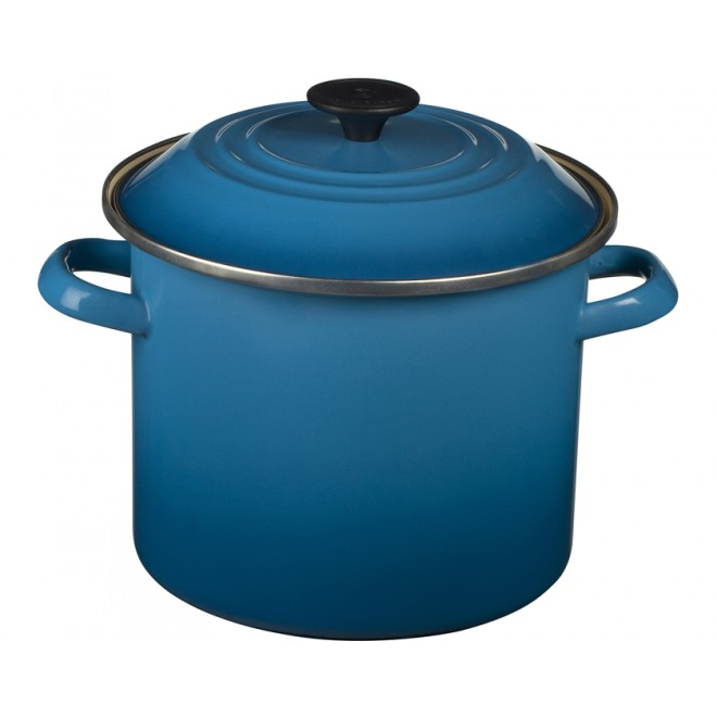Le Creuset Enamel on Steel 6 qt. Stock Pot - Marseille