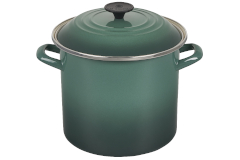 Le Creuset Enamel on Steel 8 qt. Stock Pot - Artichaut