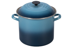 Le Creuset Enamel on Steel 10 qt. Stock Pot - Marine